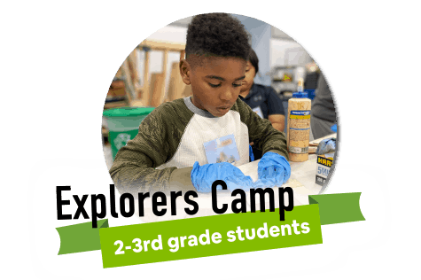 Explorers Camp for 2-3rd grade students