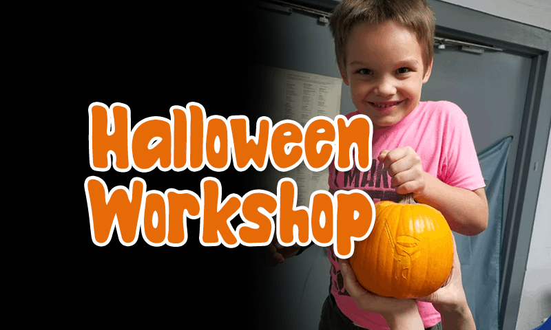 Halloween Pumpkin Laser etching Workshop
