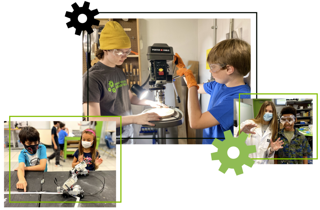 STEM Saturdays website header image